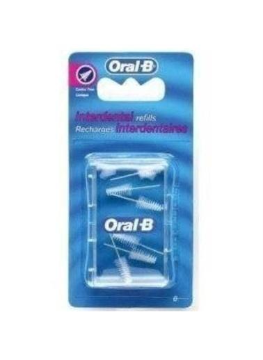 Oral-B Oral B Eğimli Arayüz FırÇa Başı Yedeği Renkli